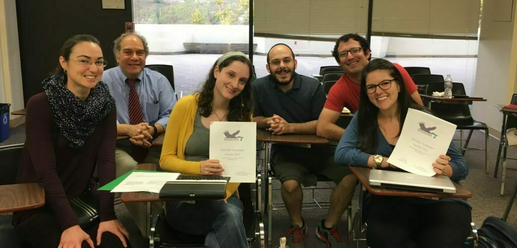 Rabbinic Students in Pastoral Care Class at American Jewish University